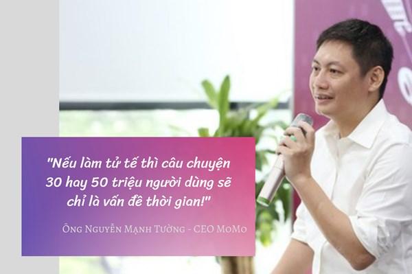 MoMo: Cú đánh cược với tương lai của startup Việt