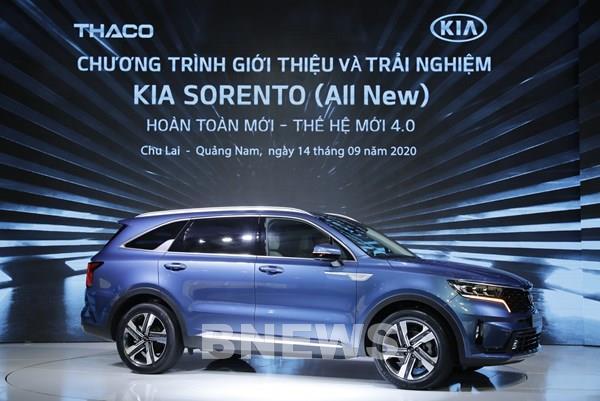 Thaco ra mắt Kia Sorento đổi mới toàn diện về thiết kế và công nghệ