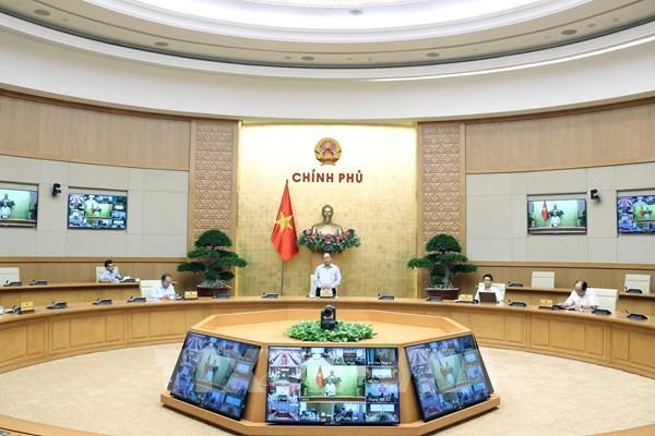Kết luận của Thủ tướng tại cuộc họp Thường trực Chính phủ về phòng, chống COVID-19