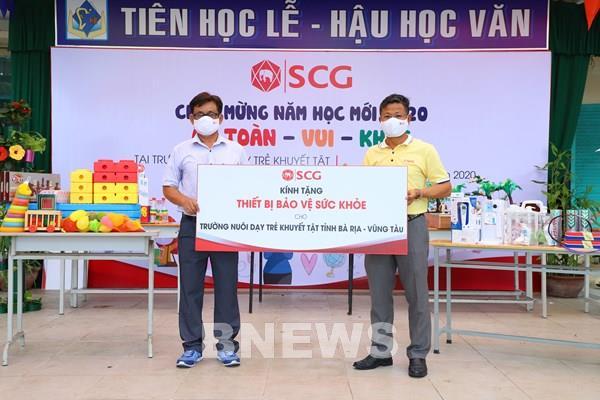Tập đoàn SCG đồng hành cùng trường Nuôi dạy trẻ Khuyết tật
