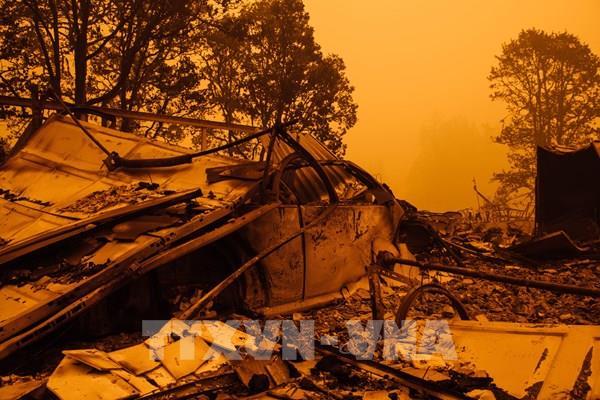 Mỹ ban bố thảm họa tại bang Oregon do cháy rừng