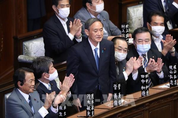 Tân Thủ tướng Nhật Bản công bố thành phần nội các mới