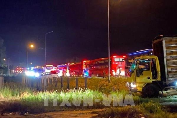 Bình Thuận khởi tố tài xế giao phụ xe điều khiển xe gây tai nạn làm 8 người chết