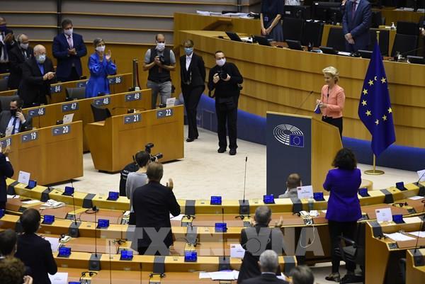 Chủ tịch EC đề cập tới hàng loạt thách thức trong thông điệp thường niên của EU