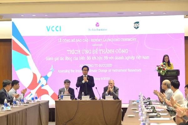 Đánh giá tác động của biến đổi khí hậu đối với doanh nghiệp Việt Nam