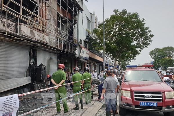 Bắt khẩn cấp đối tượng gây ra vụ cháy tại Phòng giao dịch ngân hàng Eximbank