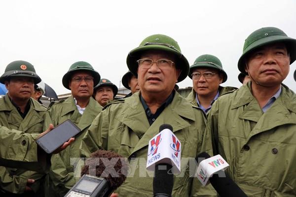 Phó Thủ tướng: Thừa Thiên – Huế khẩn trương di dời các hộ dân ở vùng nguy hiểm