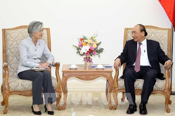"""Việt Nam ủng hộ """"Chính sách hướng Nam mới"""" của Hàn Quốc"""