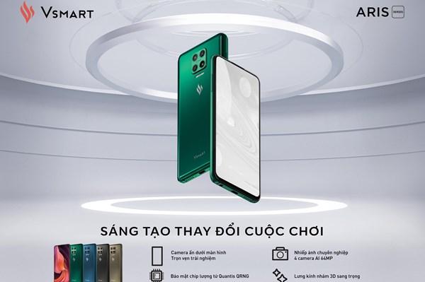 VinSmart ra mắt điện thoại camera ẩn đầu tiên tại Việt Nam