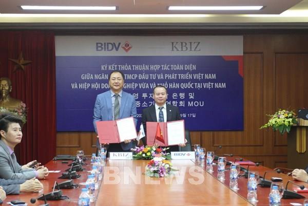 BIDV bắt tay KBIZ-VN, mở ra triển vọng hợp tác mới
