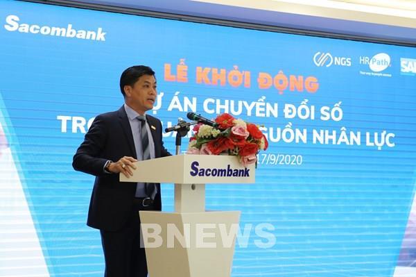 Sacombank triển khai số hóa trong quản trị nhân sự