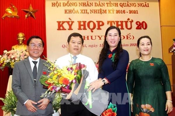 Thủ tướng phê chuẩn kết quả bầu Chủ tịch UBND tỉnh Quảng Ngãi