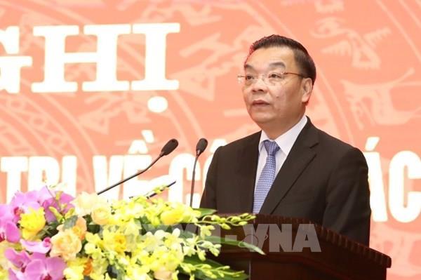 Đồng chí Chu Ngọc Anh nhận nhiệm vụ Phó Bí thư Thành ủy Hà Nội