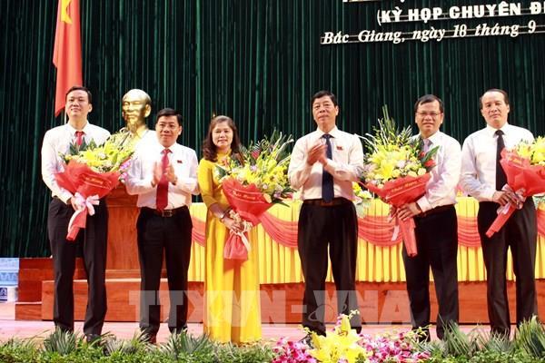 Kiện toàn nhân sự HĐND và UBND tỉnh Bắc Giang nhiệm kỳ 2016 - 2021
