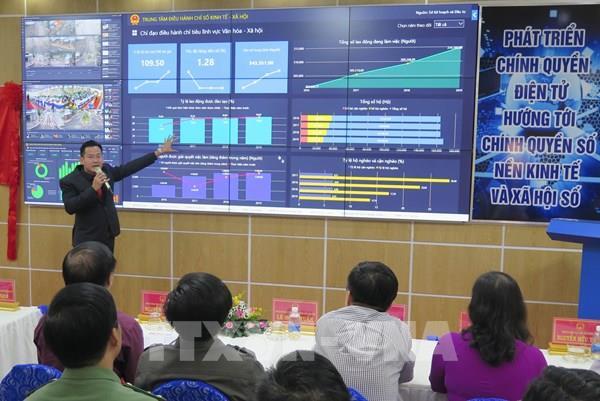 Khai trương Trung tâm điều hành thông minh tỉnh Kon Tum