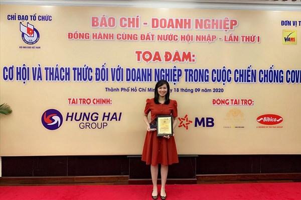 """Bảo Việt là """"Doanh nghiệp có thành tích hỗ trợ công tác đẩy lùi đại dịch COVID-19"""""""