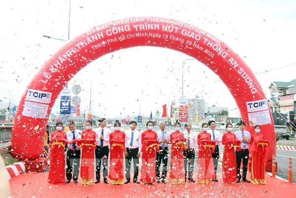 Tp. Hồ Chí Minh khánh thành toàn bộ dự án nút giao thông An Sương
