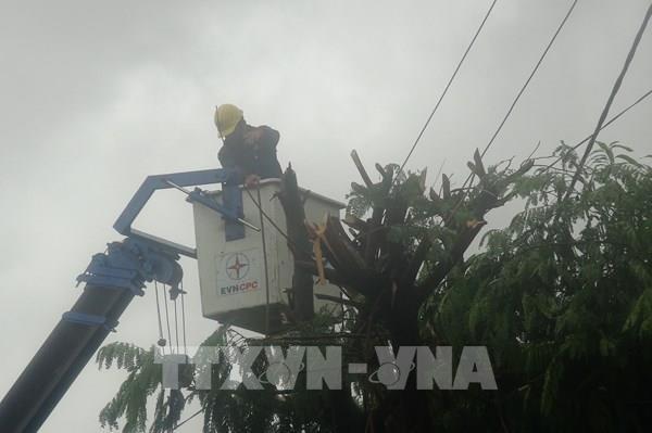 Ảnh hưởng bão số 5: Khôi phục toàn bộ phụ tải của Quảng Trị, Quảng Nam và Thừa Thiên Huế