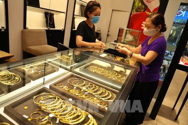 Giá vàng ổn định ở mức 56,47 triệu đồng/lượng