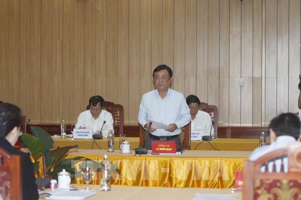 Thủ tướng bổ nhiệm ông Lê Minh Hoan làm Thứ trưởng Bộ NN và PTNT