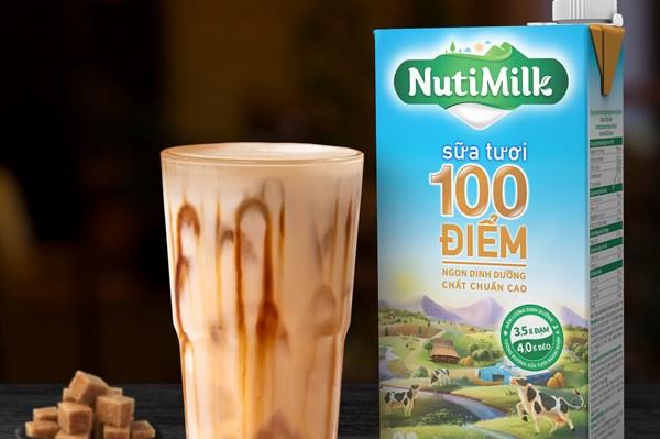 Nutifood ra mắt sản phẩm sữa tươi chuẩn ngoại nhập