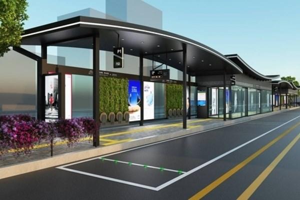Hàn Quốc: Seoul xây nhà chờ xe buýt theo phong cách nhà truyền thống hanok