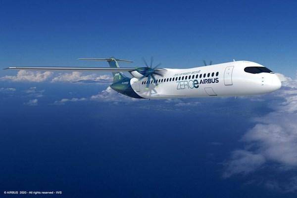 Airbus giới thiệu 3 ý tưởng máy bay không khí thải mới