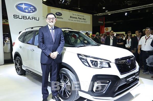 Subaru bổ sung chính sách hậu mãi đối với xe Forester