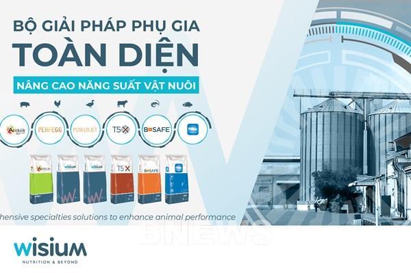 Wisium Việt Nam ra mắt bộ giải pháp phụ gia giúp tăng năng suất vật nuôi