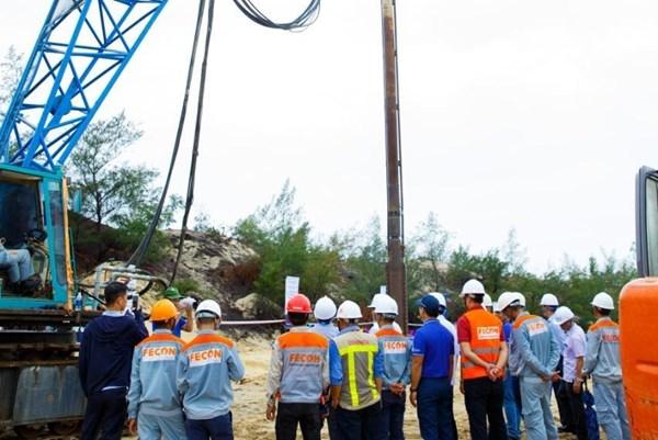 FECON tham gia thi công cụm trang trại điện gió lớn nhất Việt Nam