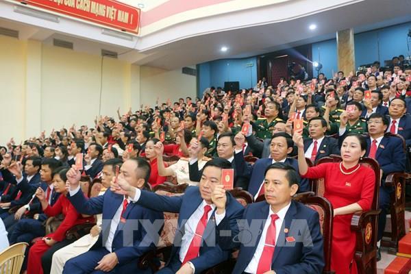 Đồng chí Lê Thị Thủy tái cử chức Bí thư Tỉnh ủy Hà Nam