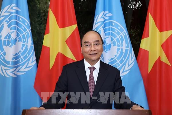 Thông điệp của Thủ tướng tại Phiên họp Cấp cao kỷ niệm 75 năm thành lập Liên hợp quốc