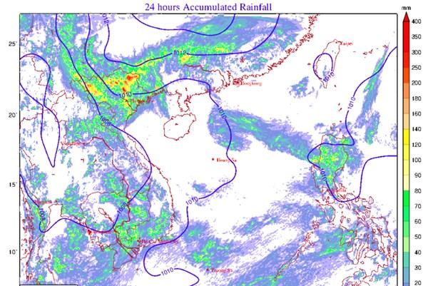 Dự báo thời tiết hôm nay 23/9: Không khí lạnh tiến sát các tỉnh phía Bắc