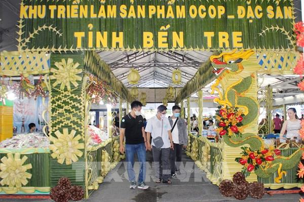 """Bến Tre """"chào hàng"""" các đặc sản tại Tp. Hồ Chí Minh"""