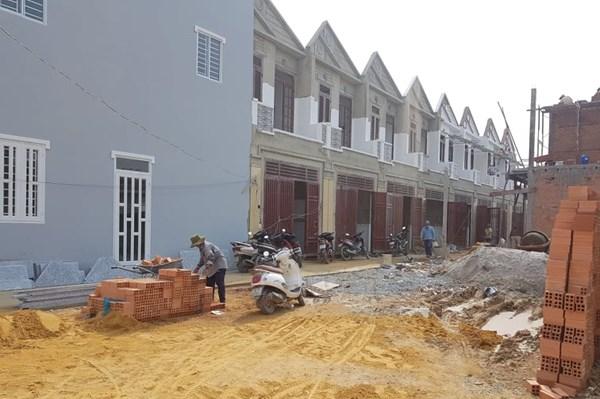 Xử lý vi phạm về trật tự xây dựng tại Long An