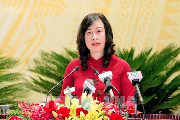 Bà Đào Hồng Lan được bầu làm Bí thư Tỉnh ủy Bắc Ninh nhiệm kỳ 2020-2025