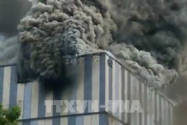 Hỏa hoạn tại cơ sở nghiên cứu của Huawei ở Trung Quốc