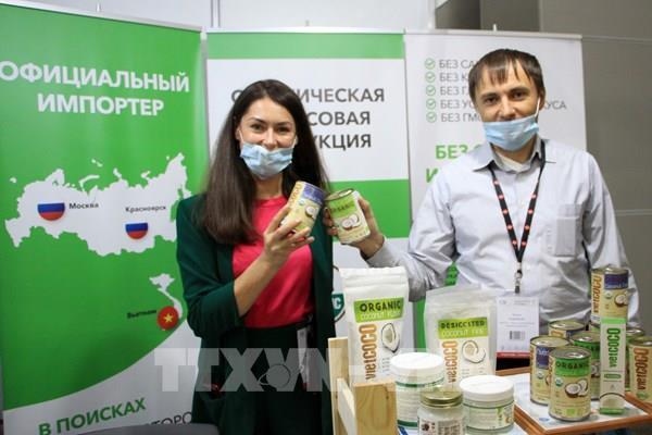 Hàng Việt Nam ngày càng được ưa chuộng tại Nga