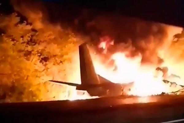 Rơi máy bay quân sự tại Ukraine: Hàng chục người thiệt mạng