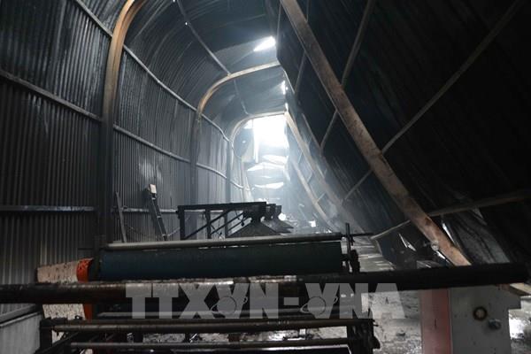Cháy lớn tại xưởng sản xuất cơ khí nhựa xốp, thiệt hại gần 3 tỷ đồng