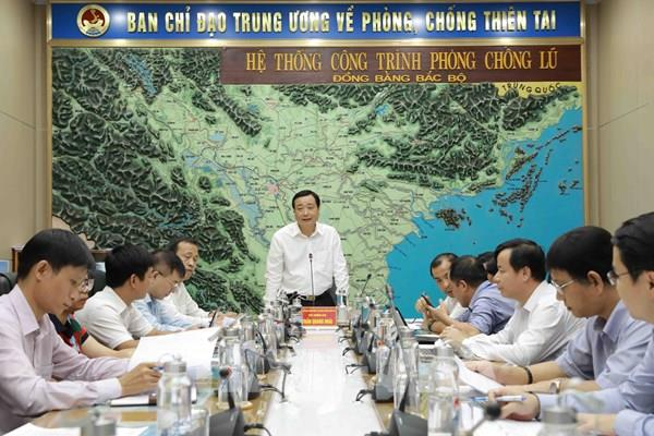 14 giờ ngày 28/9 có báo cáo khẩn về điều hành hồ chứa lưu vực sông Hồng