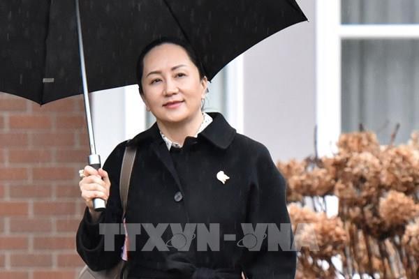"""CFO Huawei tiếp tục """"cuộc chiến"""" chống lại lệnh dẫn độ của Mỹ"""