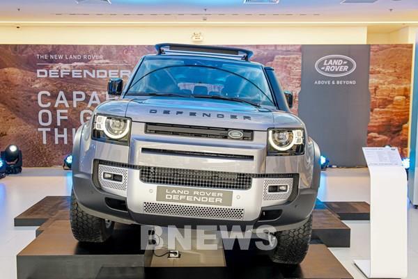 Land Rover Defender hoàn toàn mới đã được giới thiệu đến khách hàng Hà Nội