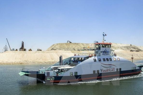 Ai Cập đầu tư gần 17 tỷ USD cho kênh đào Suez trong tài khóa 2020-2021