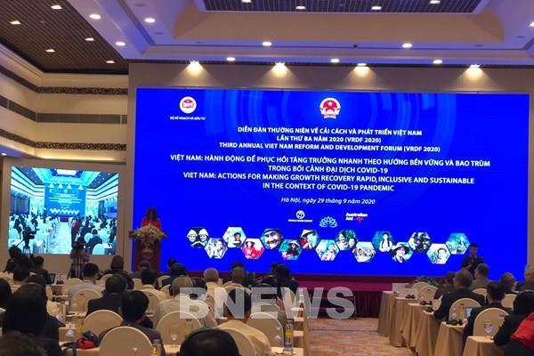 Khai mạc Diễn đàn thường niên về Cải cách và Phát triển Việt Nam