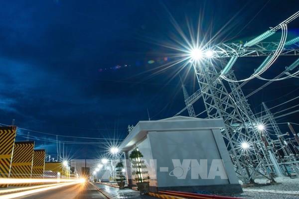Đóng điện thành công Trạm biến áp và nhà máy điện mặt trời Trung Nam Thuận Nam