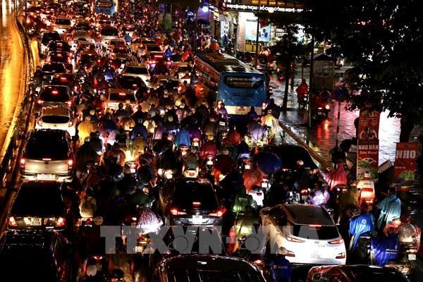 Hà Nội dự kiến sẽ thí điểm cấm xe máy tại một số tuyến đường