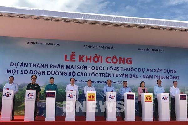Khởi công 3 dự án thành phần cao tốc Bắc Nam: Động lực mới cho phát triển kinh tế - xã hội