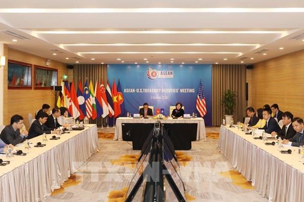 ASEAN 2020: Đối thoại hợp tác tài chính - ngân hàng giữa ASEAN với Hoa Kỳ