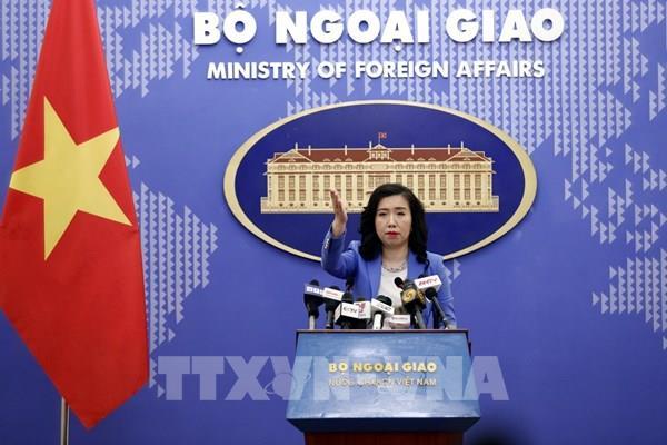 Bộ Ngoại giao: Việt Nam hoan nghênh lập trường của các nước về vấn đề Biển Đông